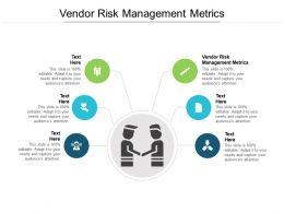 Vendor Risk Management Metrics Ppt Infographic Template Graphics Example Cpb