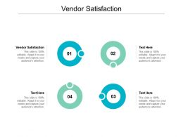 Vendor Satisfaction Ppt Powerpoint Presentation Slides Example Cpb