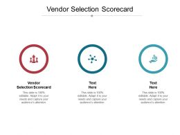 Vendor Selection Scorecard Ppt Powerpoint Presentation Inspiration Format Cpb