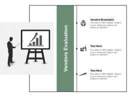 Vendors Evaluation Ppt Powerpoint Presentation Inspiration Maker Cpb