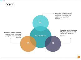 Venn Compensation Plan Ppt Infographic Template Designs Download