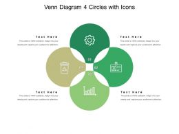 Venn Diagram 4 Circles With Icons