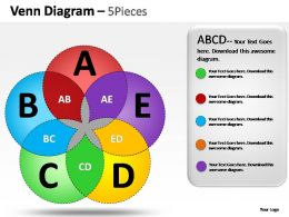 venn_diagram_5_pieces_powerpoint_presentation_slides_Slide01