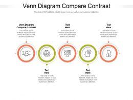 Venn Diagram Compare Contrast Ppt Powerpoint Presentation Outline Good Cpb