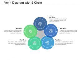 Venn Diagram With 5 Circle