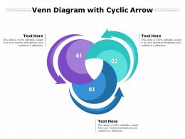 Venn Diagram With Cyclic Arrow