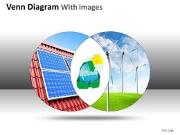 Venn Diagram With Images Powerpoint Presentation Slides DB