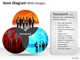 Venn Diagram With Images ppt Templates 22