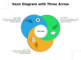 Venn Diagram With Three Arrow