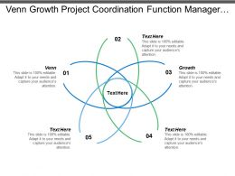 Venn Growth Project Coordination Function Manager Strong Leaders