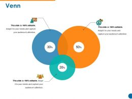 Venn Powerpoint Slide Images Template 1