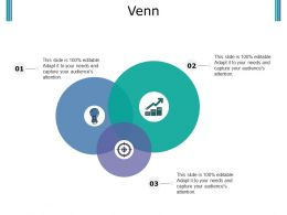 Venn Powerpoint Slide Influencers