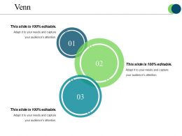 Venn Powerpoint Slide Show Template 1