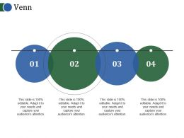 Venn Powerpoint Slide Template