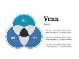 Venn Ppt Backgrounds