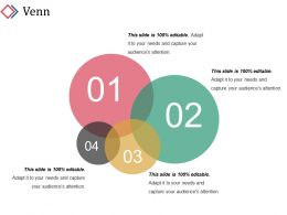 Venn Ppt Design Template 1