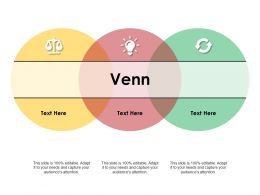 Venn Ppt Model Background Designs
