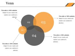 Venn Ppt Summary Graphics Design