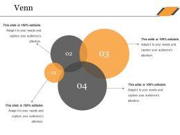 Venn Ppt Summary Graphics Design