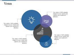 Venn Profit Based Sales Targets Ppt Summary Master Slide