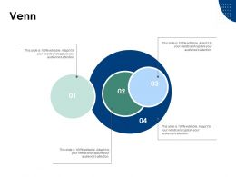 Venn Sales Marketing A6 Ppt Powerpoint Presentation Ideas Background Designs