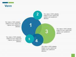 Venn Sales Marketing Ppt Gallery Graphics Template