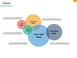 Venn Sales Marketing Ppt Powerpoint Presentation Outline Layout