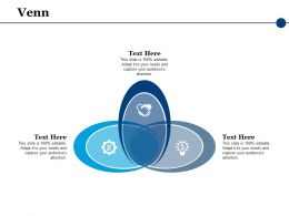 Venn Sales Strategy Ppt Powerpoint Presentation File Aids