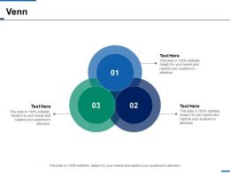 Venn Strategy Sales Ppt Infographics Slide Download