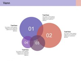 Venn With Four Circles Knowledge Strategy Action Drive