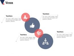 Venn With Four Icons Advertising Channels Ppt Infographics Slides
