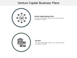 Venture Capital Business Plans Ppt Powerpoint Presentation Styles Show Cpb