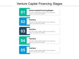 Venture Capital Financing Stages Ppt Powerpoint Presentation Pictures Cpb