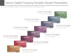 Venture Capital Financing Template Sample Presentation