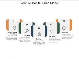 Venture Capital Fund Model Ppt Powerpoint Presentation Portfolio Icon Cpb