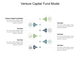 Venture Capital Fund Model Ppt Powerpoint Presentation Templates Cpb