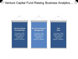 Venture Capital Fund Raising Business Analytics Management Portfolio Management Cpb