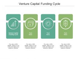 Venture Capital Funding Cycle Ppt Powerpoint Presentation Show Slides Cpb