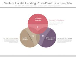 Venture Capital Funding Powerpoint Slide Template