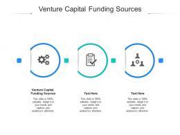 Venture Capital Funding Sources Ppt Powerpoint Presentation Model Design Inspiration Cpb