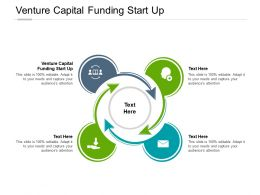 Venture Capital Funding Start Up Ppt Powerpoint Presentation Icon Design Ideas Cpb