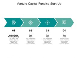 Venture Capital Funding Start Up Ppt Powerpoint Presentation Infographic Cpb