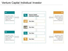 Venture Capital Individual Investor Ppt Powerpoint Presentation Icon Graphics Design Cpb