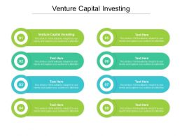 Venture Capital Investing Ppt Powerpoint Presentation Pictures Layout Cpb