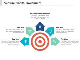 Venture Capital Investment Ppt Powerpoint Presentation Icon Guidelines Cpb