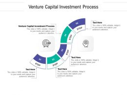 Venture Capital Investment Process Ppt Powerpoint Presentation Outline Inspiration Cpb
