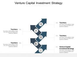 Venture Capital Investment Strategy Ppt Powerpoint Presentation Show Portfolio Cpb