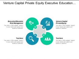 Venture Capital Private Equity Executive Education Risk Management Cpb