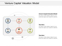 Venture Capital Valuation Model Ppt Powerpoint Presentation Icon Ideas Cpb
