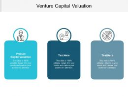 Venture Capital Valuation Ppt Powerpoint Presentation Gallery Brochure Cpb
